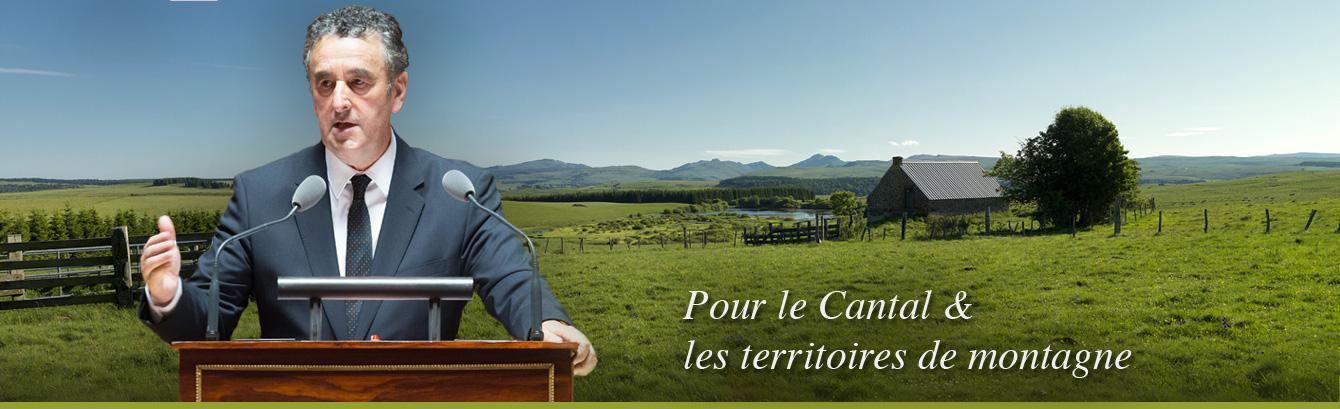 Bernard DELCROS, pour le Cantal & les territoires de montagne