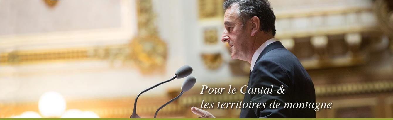 Bernard DELCROS, sénateur du Cantal